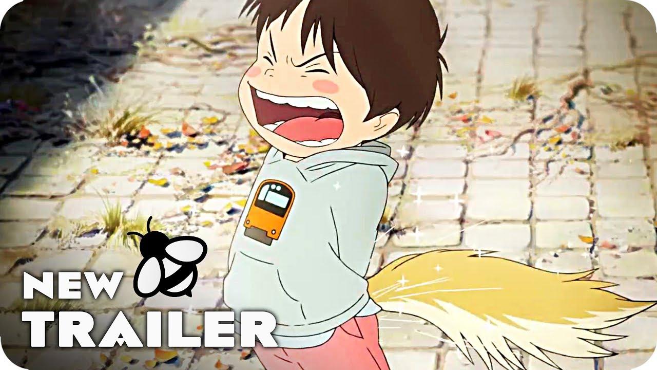 Mirai Of The Future Trailer 2018 Mamoru Hosoda Anime Movie
