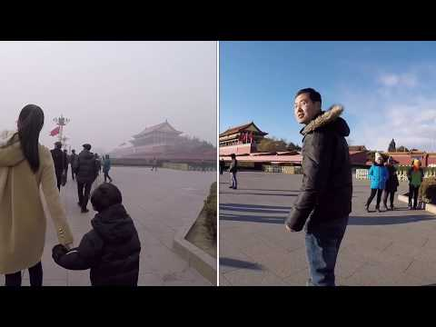 Air pollution Viviendo en China Living in China series