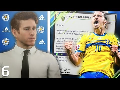 CONTRACT OFFER FROM IBRAHIMOVIC!  - FIFA 18 Cinematic Manager Mode #6