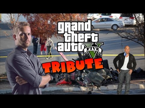 PAUL WALKER TRIBUTE (GTA V)