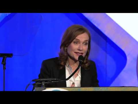 Isabelle Huppert - Gotham Awards 2016
