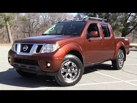2016 Nissan Frontier Pro-4X Crew Cab - Start Up, Off Road Test & In Depth Review
