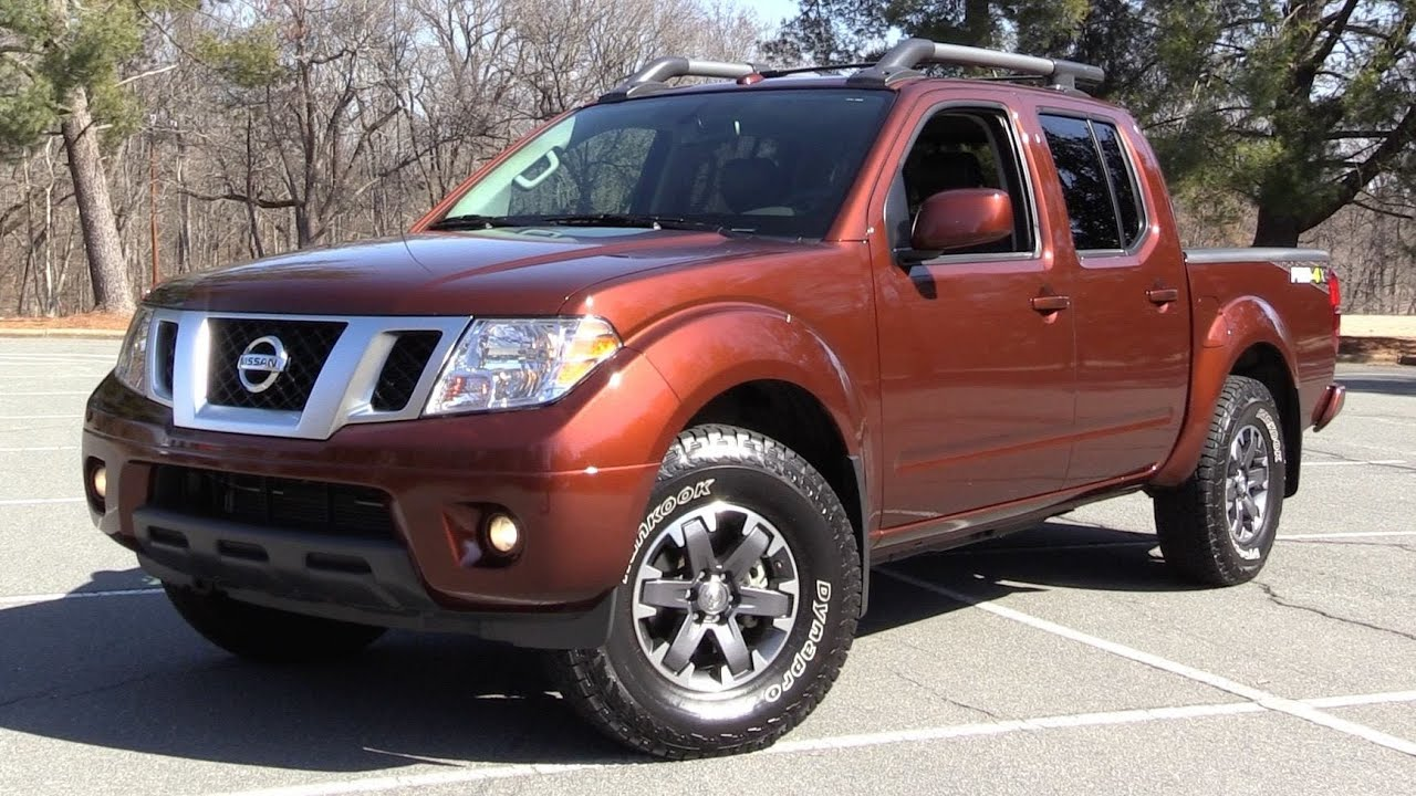 2016 Nissan Frontier Pro 4x Crew Cab Start Up Off Road Test In