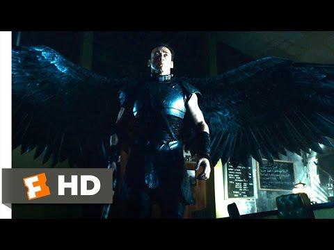 Legion (9/10) Movie CLIP - Michael Vs. Gabriel (2010) HD