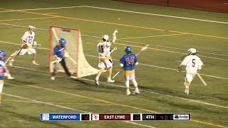 Highlights: East Lyme 13, Waterford 12