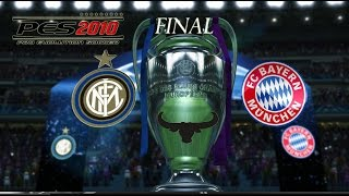 PES 2010 UEFA Champions League - Inter vs Bayern Munich - FINAL