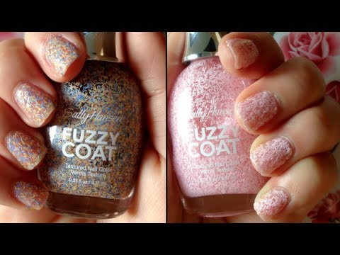 "Sally Hansen: ""Fuzzy Coat"" Nail Polish Review HD - YouTube"