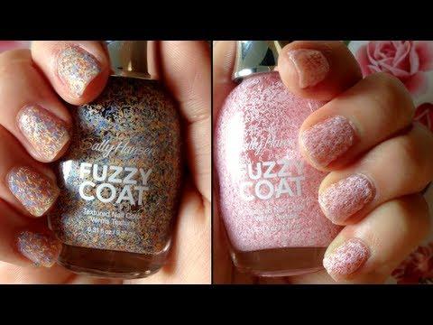 "sally hansen ""fuzzy coat"" nail"