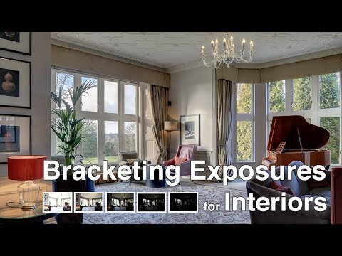 Bracketing Exposures to Photograph Real Estate Interiors