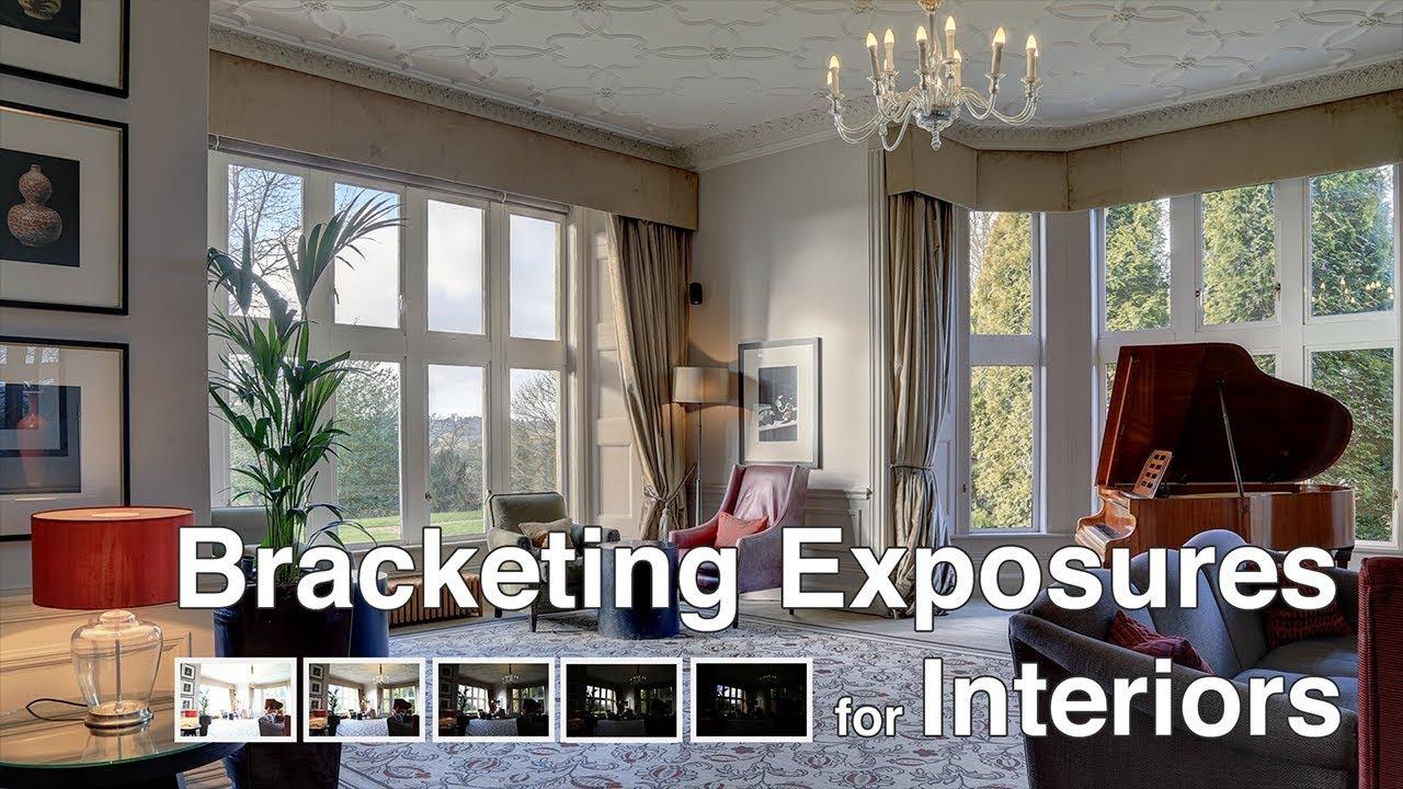 Bracketing Exposures to Photograph Real Estate Interiors