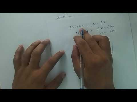 Proof Of Lagrange's Mean Value Theorem || Proof Of First Mean Value Theorem || Engg. Mathematics