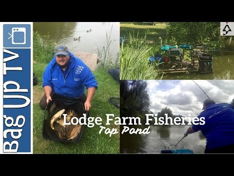 Lodge Farm Fisheries - Top Pond - BagUp TV - Live Match Fishing Footage - 04/06/2017