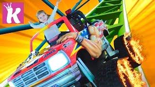 Парк Развлечений Игровая Детская Площадка в ТРЦ Лавина Amusement Park Kids Playroom Videos for kids