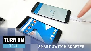 Samsung Galaxy S7 - Datenübertragung per Smart-Switch Adapter