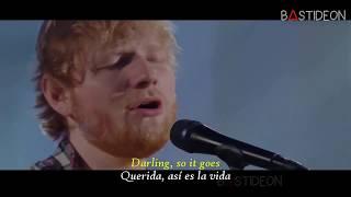 Ed Sheeran - Can't Help Falling In Love (Sub Español + Lyrics)