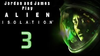 james is a murderer jordan and james play alien isolation