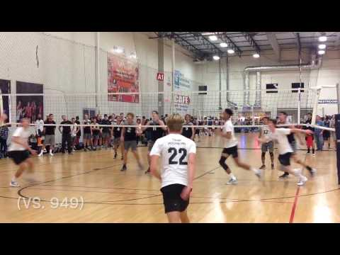 Brady Wedbush Class 2017 #22 Team Rockstar  SCVA Nov 5,6,& 19, 2016 Volleyball Highlights