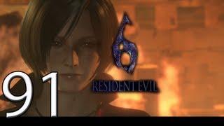 Resident Evil 6 detonado pc campanha ADA Derrote a Carla Mutante Cap. 4 - 04