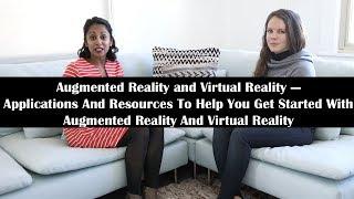 AR/VR-Anwendungen Und-Ressourcen, Um Ihnen den Einstieg in die Augmented Reality Und Virtual Reality