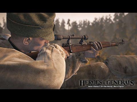 Heroes and Generals Подробный Гайд по классу Разведчик ( Снайпер )