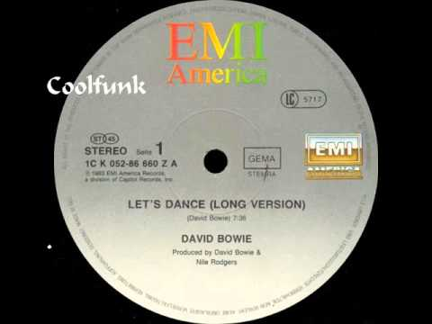 David Bowie  Lets Dance 12 Extended 1983
