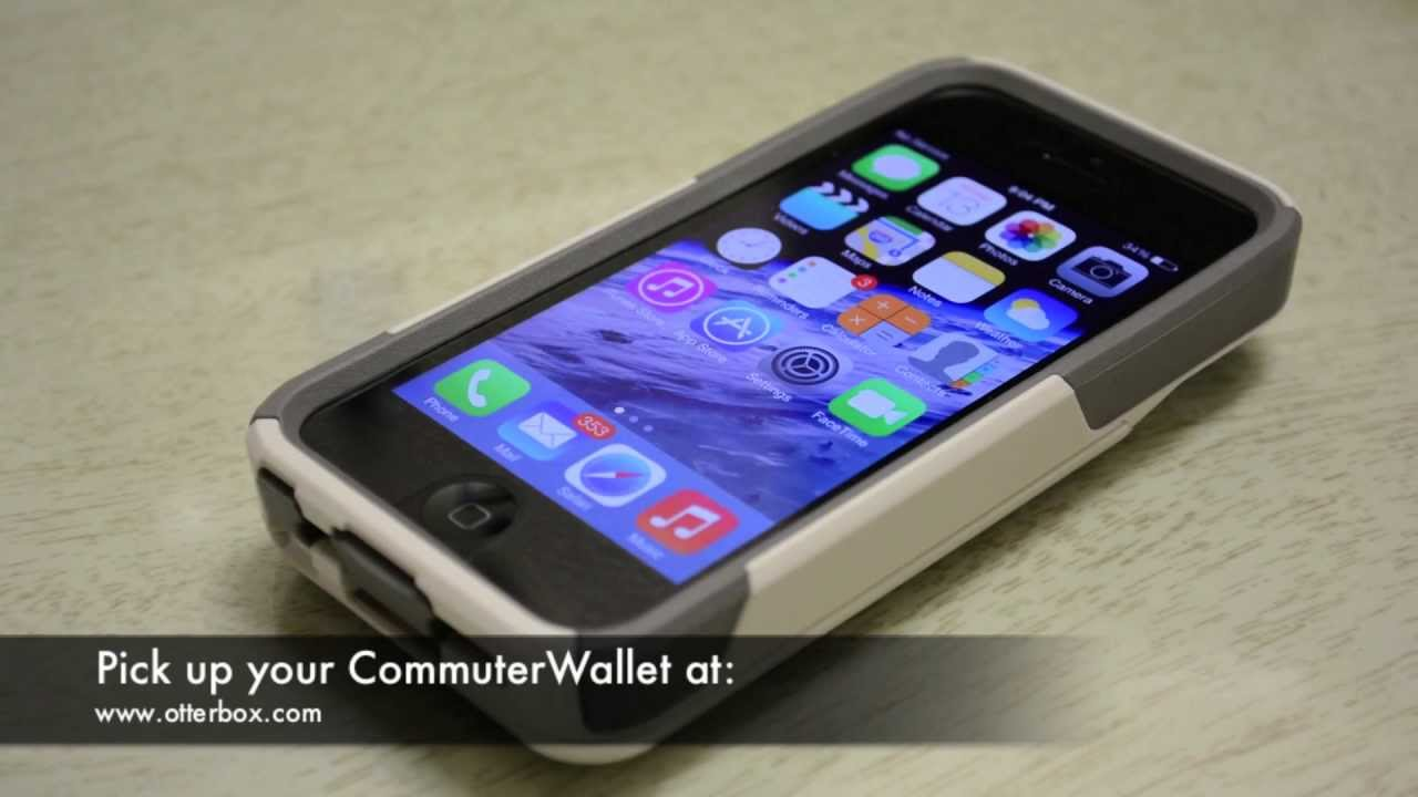 c15fd4bcf Otterbox Commuter Wallet Case - iPhone 5 & 5S - Indepth Review - YouTube