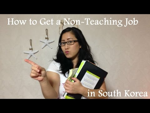 How I Got a Non-Teaching Job in South Korea