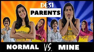 Normal Parents VS. My Parents 👨‍👩‍👧 | Rickshawali