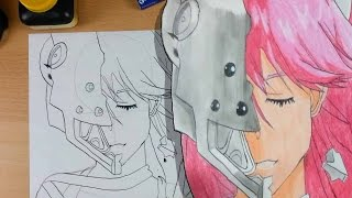 Let´s Draw Lucy aus Elfenlied