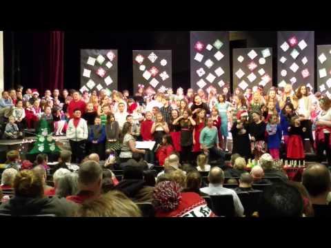 William Allen School Winter Concert 2014 Part 2 of 2