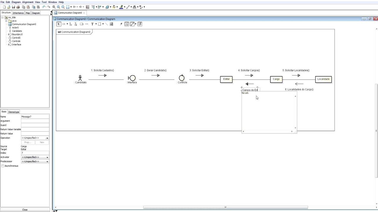 Exemplo De Modelagem Do Diagrama De Comunica U00e7 U00e3o