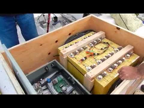 Lithium Batteries Install aboard Yacht
