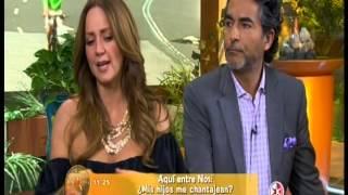 """Aquí entre nos """"Mis hijos me chantajean"""" con el Dr. César Lozano"""