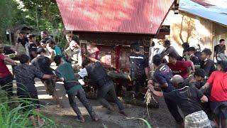 Pemakaman Martha Ola Bandaso\x27 di Allibai Rantela\x27bi\x27 Toraja   KUBUR  