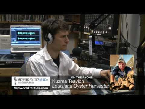 Midweek Politics with David Pakman - Louisiana Oyster Harvester/Fisherman Kuzma Tesvich Interview