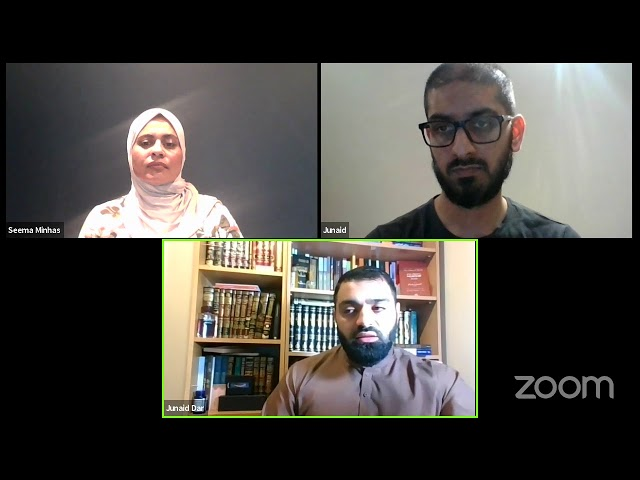 Ask the Shaykh - Live Q&A with Junaid Dar Friday Halaqah Hounslow 25/6/21