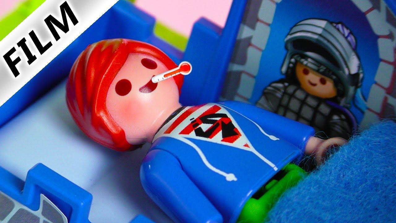 Playmobil Film Deutsch Julian Hat Fieber Muss Er Ins Krankenhaus