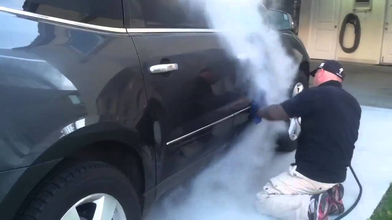 Steam Clean Car Wash Green Planet Part 2 Youtube