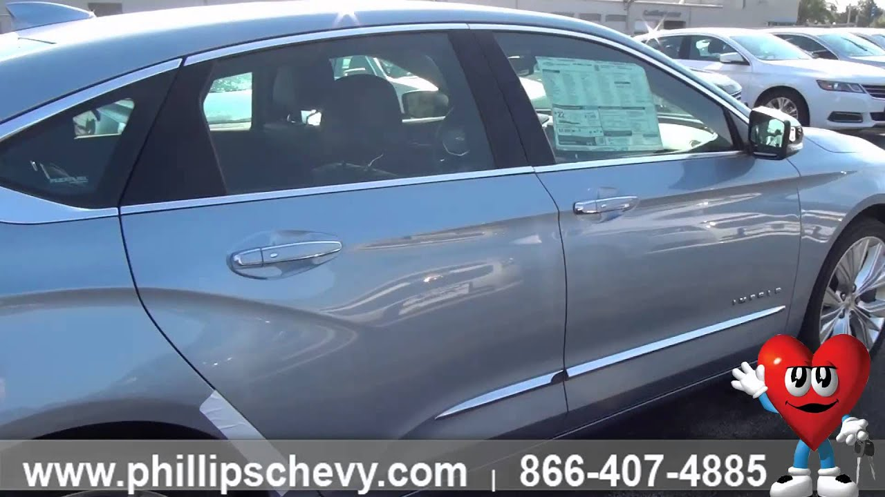 2015 Chevy Impala Exterior Walkaround Phillips Chevrolet