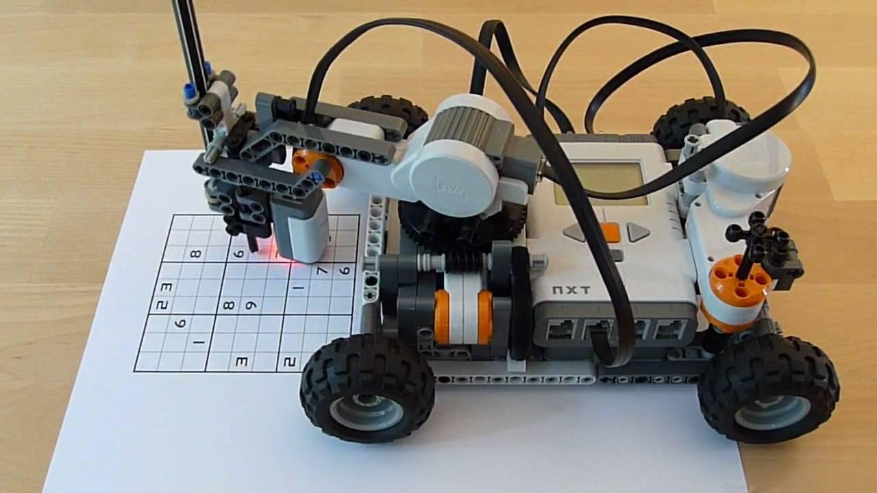 LEGO Mindstorms Sudoku Solver | Hackaday