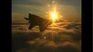 Fighter jet music video