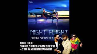 Night Flight - Shaggy, Super Cat & Maxi Priest (Official Audio)