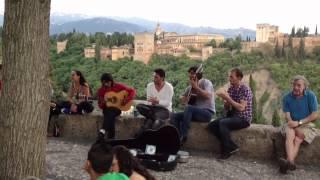 Arte en el albayzin con Vistas a la Alhambra