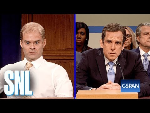 Michael Cohen Hearing Cold Open – SNL