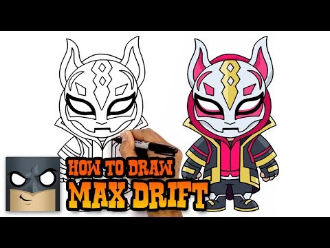 How To Draw Fortnite | MAX DRIFT