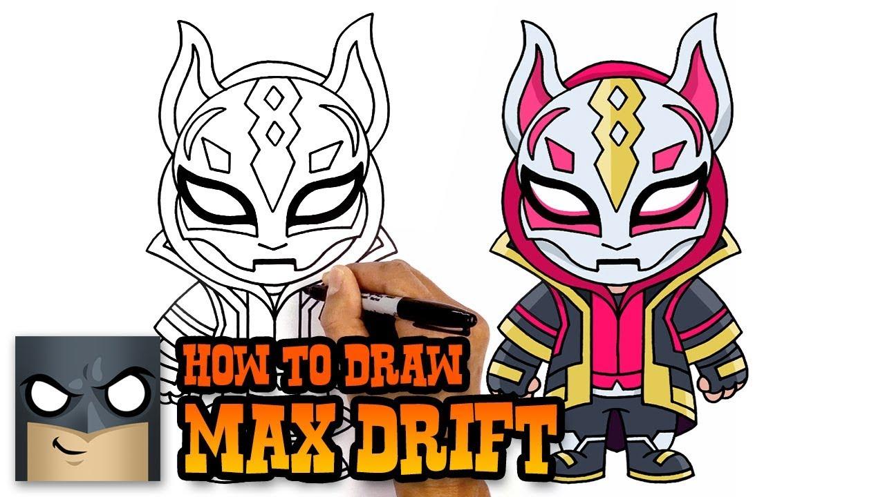 How To Draw Fortnite Mini