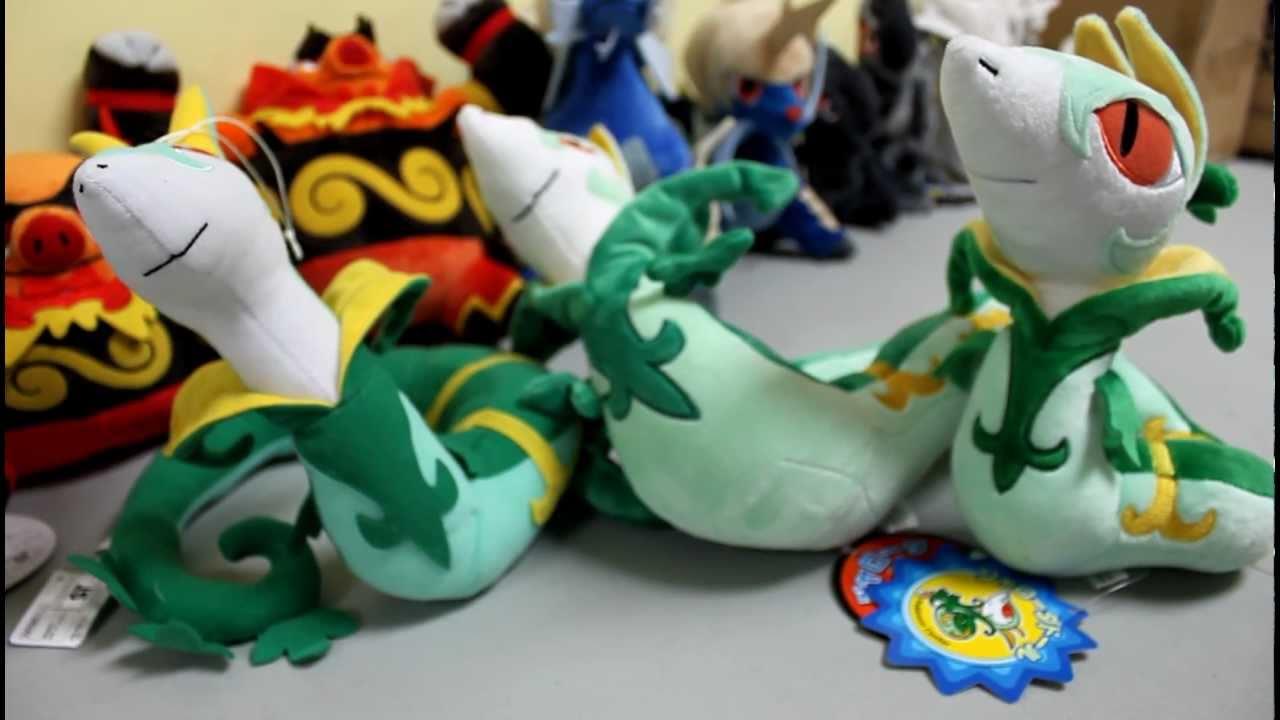 Pokemon Center Original Plush Doll Serperior JAPAN OFFICIAL Jalorda