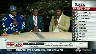 Jordan Subban joins brothers Malcolm and P.K. for an interview 6/30/13