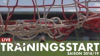 LIVE: Trainingsstart | Saison 2018/19 | 05er.tv