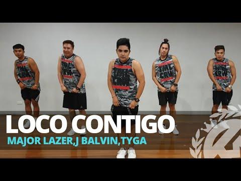 LOCO CONTIGO by DJ Snake ft J. Balvin,Tyga | Zumba | Reggaeton | TML Crew Reysan Mendoza